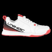 Unihoc U4 Plus LowCut (18) Sisäpelikenkä Valko Punainen 6c4e3a235c