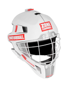 Zone Monster (19) Square Cage Salibandymaalivahdin maski (White/Red)