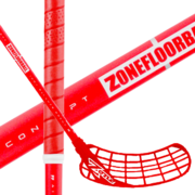 Zone Zuper Air 31 All Red (19) Salibandymaila