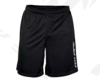 Fat Pipe Hans (19) Training Shortsit (Black)